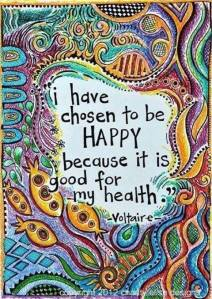 choosing to be happy is healthy